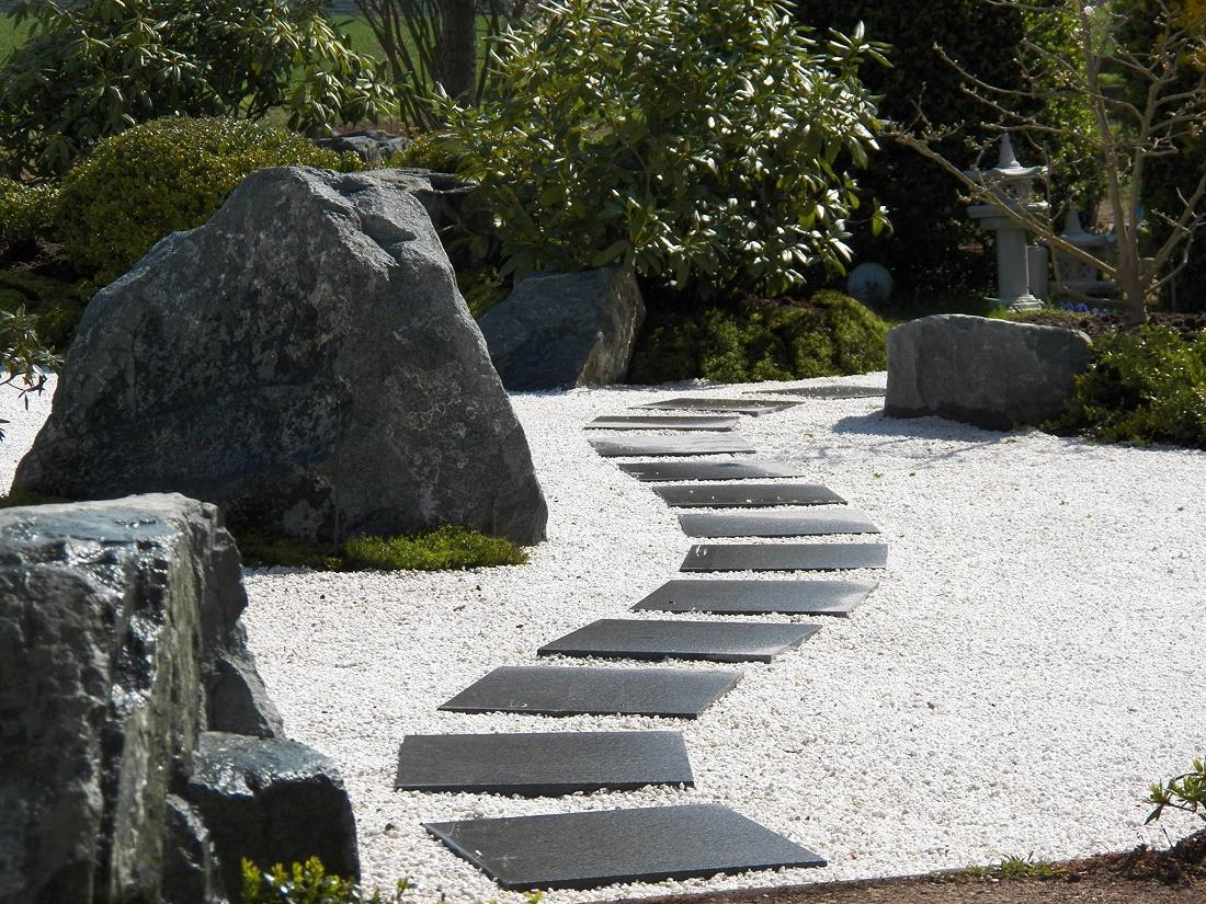 Zengarten Japanische Garten Japangarten Japan Garten Zenkloster