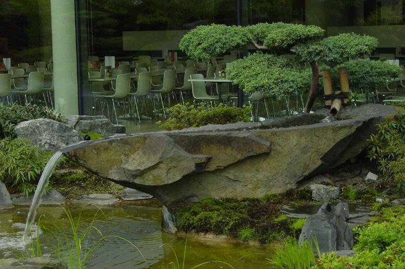 der japanische garten in hannover vor einem neubau. Black Bedroom Furniture Sets. Home Design Ideas